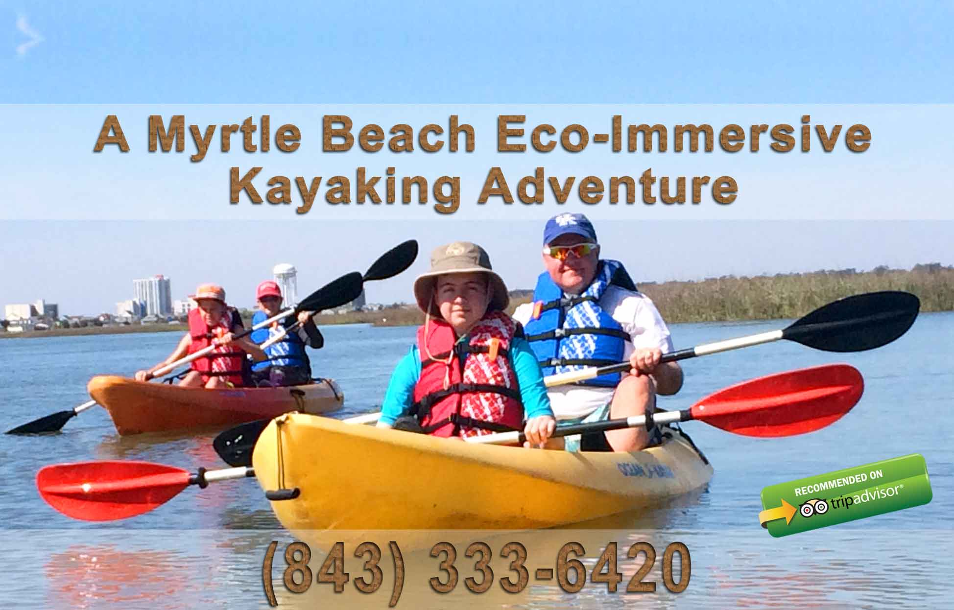Kayaking in Myrtle Beach